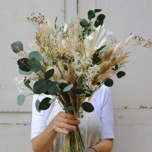 atelier bouquet de fleurs séchées