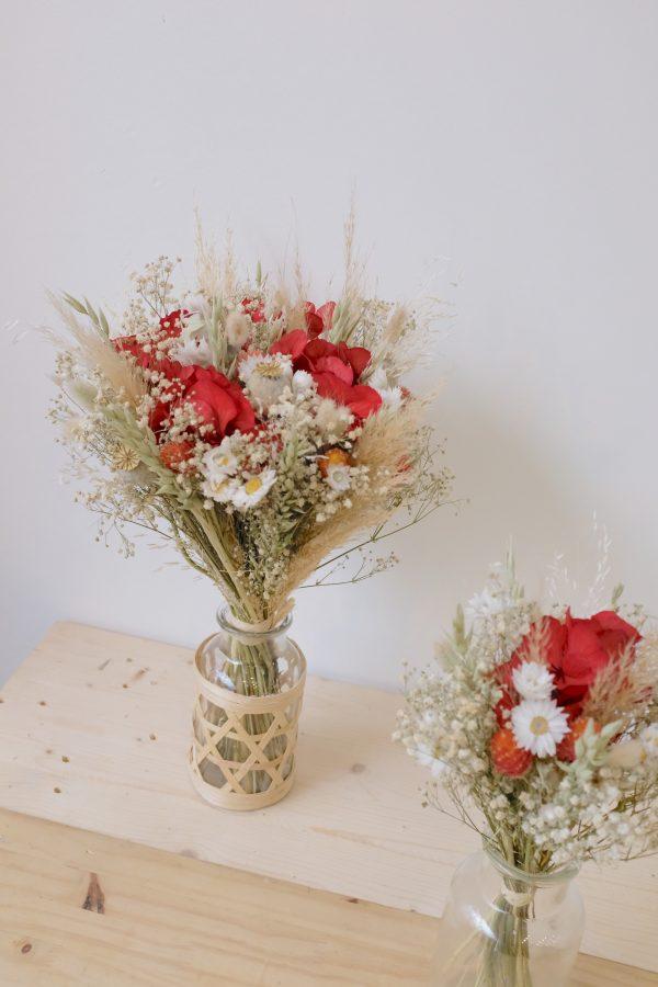 Bouquet rouge coquelicot