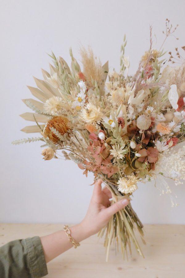 Bouquet pêche peach