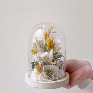 globe fleurs séchées